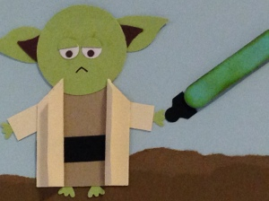 Yoda punch art