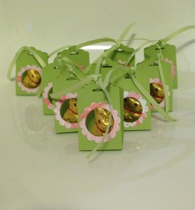 Easter treats with the scallop tag topper punch